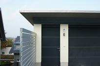 Sehr individuelle Einfamilienhäuser mit vielen tollen Details und einder gradiosen Aussicht auf den Rhein