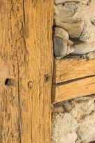 Energetische Sanierung des alten Dachstuhls wie auch der alten Riegelwände