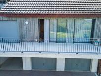 Der Terrassen Bereich der im EG mit Elementbauweise erstellt wurde.